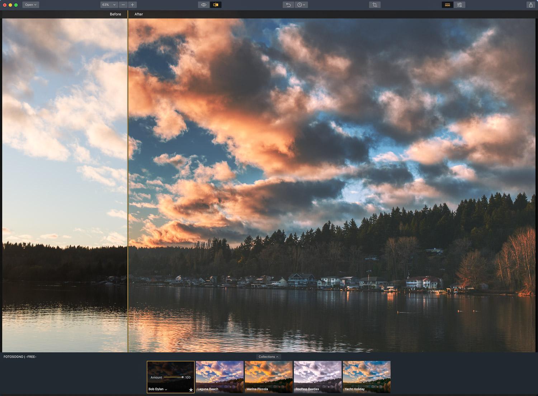 FotoSogno FREE Aurora HDR Looks - Laguna Beach